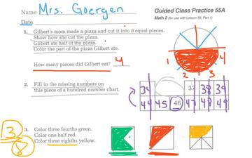Math Lesson 55A | Educreations