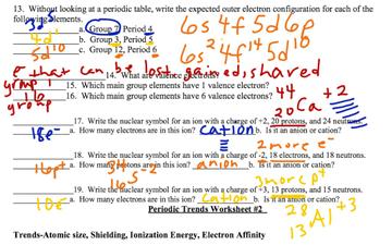Periodic table worksheet 1 educreations urtaz Gallery